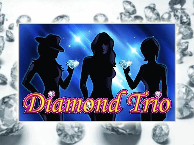 Игровой автомат Алмазное Трио в онлайн-казино